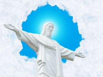 Image of Jesus the redeemer